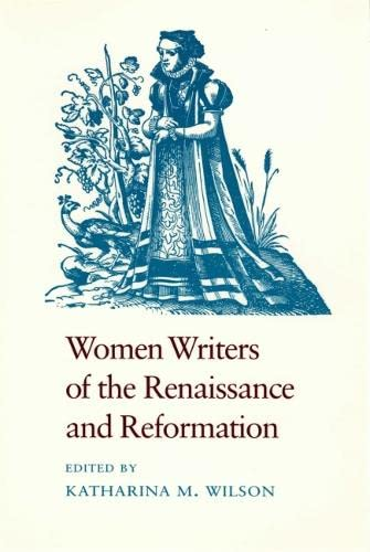 9780820308661: Women Writers of the Renaissance and Reformation