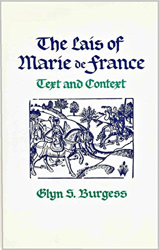 9780820309484: The Lais of Marie De France: Text and Context