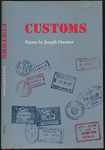 Customs: Poems