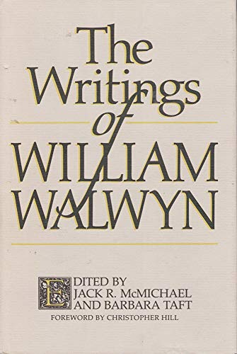 9780820310176: The Writings of William Walwyn