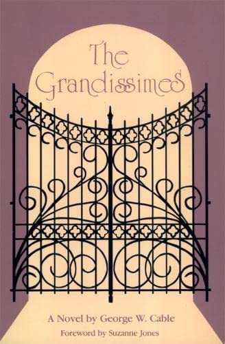 9780820310206: The Grandissimes: A Novel (Brown Thrasher books) (Agents and Actions: Supplements; 26)