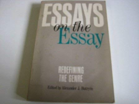 9780820311685: Essays on the Essay: Redefining the Genre