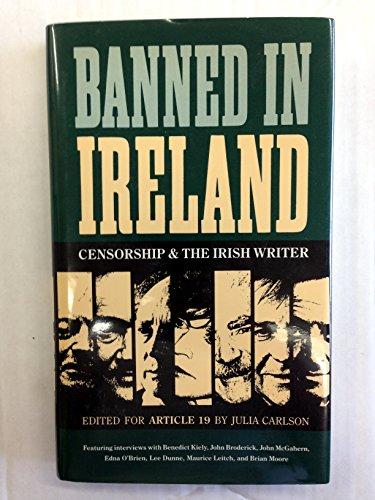 9780820312026: Banned in Ireland: Censorship and the Irish Writer