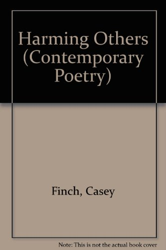 9780820313733: Harming Others: Poems (Contemporary Poetry Series)