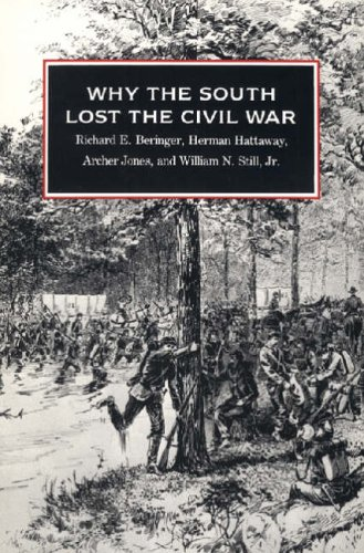 9780820313962: Why the South Lost the Civil War (Brown Thrasher Books)