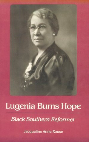 9780820314648: Lugenia Burns Hope, Black Southern Reformer (Brown Thrasher Books Ser.)