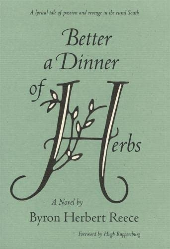 9780820314891: Better a Dinner of Herbs