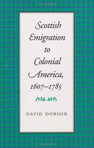 9780820314921: Scottish Emigration to Colonial America, 1607-1785