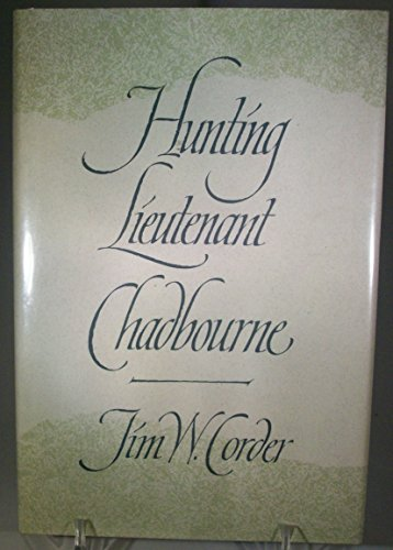 9780820315034: Hunting Lieutenant Chadbourne