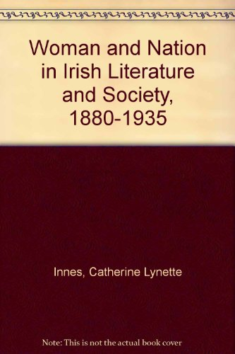 9780820315973: Woman and Nation in Irish Literature and Society, 1880-1935