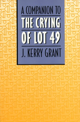9780820316369: Companion to the Crying of Lot 49