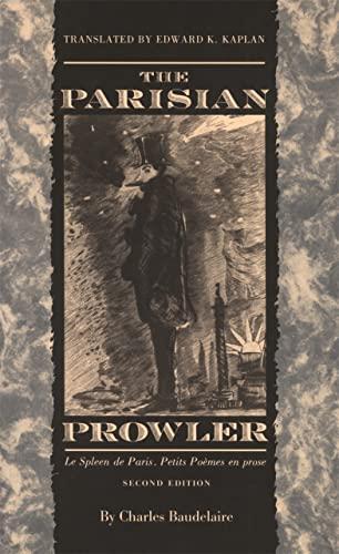 9780820318790: The Parisian Prowler: Le Spleen de Paris, Petits Poemes en Prose