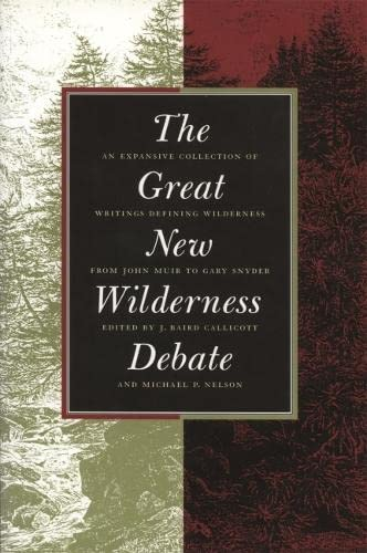 9780820319841: The Great New Wilderness Debate