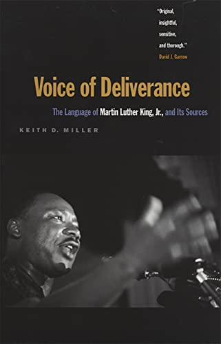 9780820320137: Voice of Deliverance: The Language of Martin Luther King, Jr., and Its Sources