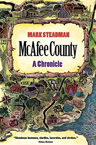 9780820320144: McAfee County: A Chronicle