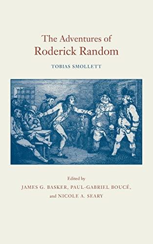 9780820321653: The Adventures of Roderick Random
