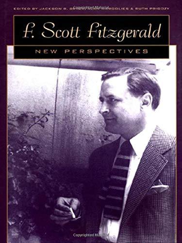 9780820321875: F. Scott Fitzgerald: New Perspectives
