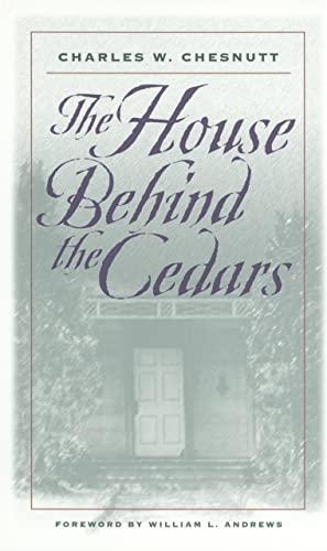 9780820321943: The House Behind the Cedars: A Novel (Brown Thrasher Books Ser.)