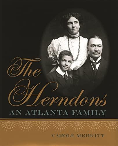 9780820323091: The Herndons: An Atlanta Family