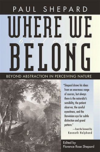 9780820324203: Where We Belong: Beyond Abstraction in Perceiving Nature