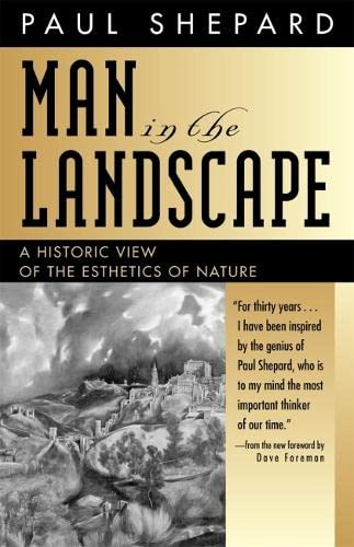 9780820324401: Man in the Landscape: A Historic View of the Esthetics of Nature