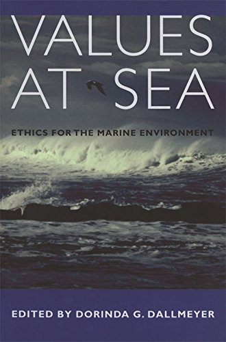 9780820324661: Values at Sea: Ethics for the Marine Environment