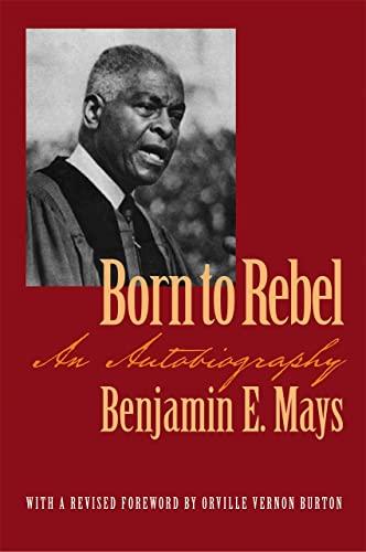 9780820325231: Born to Rebel: An Autobiography (Brown Thrasher Books Ser.)