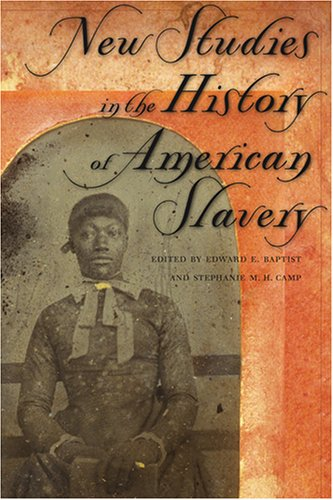 9780820325637: New Studies in the History of American Slavery