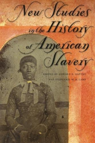 9780820326948: New Studies in the History of American Slavery