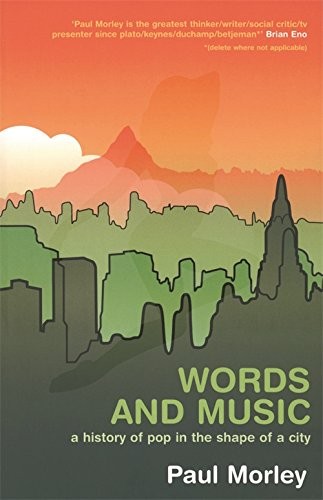 9780820327051: Words and Music: A History of Pop in the Shape of a City