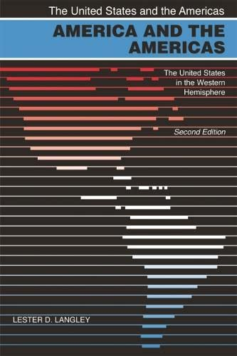 9780820328898: America and the Americas: The United States in the Western Hemisphere (The United States and the Americas Ser.)