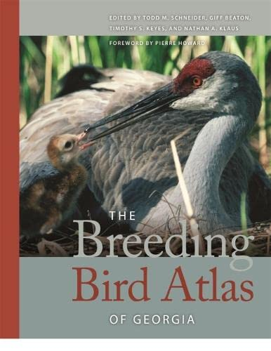 9780820328935: The Breeding Bird Atlas of Georgia