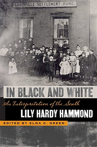 9780820329826: In Black and White: An Interpretation of the South (The Publications of the Southern Texts Society Ser.)