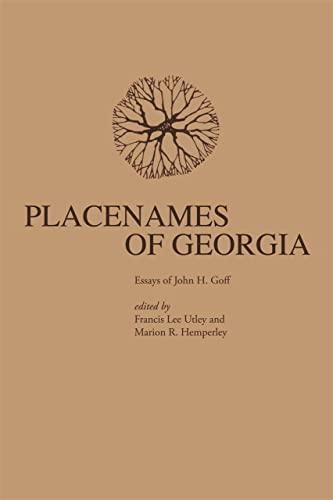 9780820331294: Placenames of Georgia