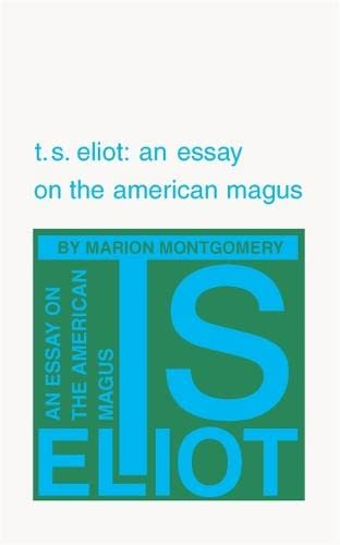 t.s. eliot essays