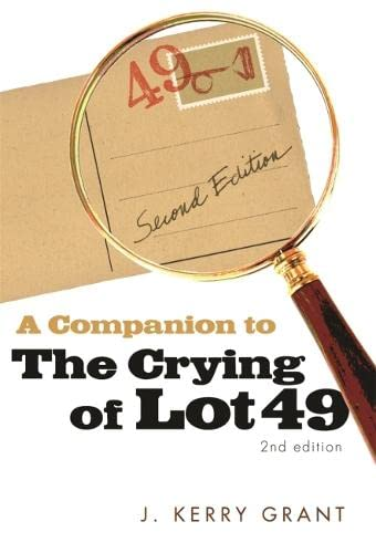 9780820332086: A Companion to The Crying of Lot 49