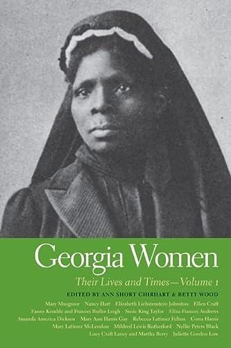 Georgia Women v. 1; Their Lives and