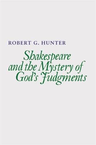 9780820338545: Shakespeare and the Mystery of God's Judgments