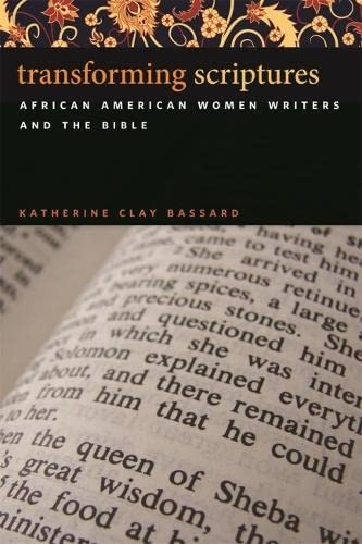 9780820338804: Transforming Scriptures: African American Women Writers and the Bible