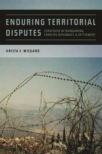 9780820339467: Enduring Territorial Disputes: Strategies of Bargaining, Coercive Diplomacy, and Settlement (Studies in Security and International Affairs Ser.)