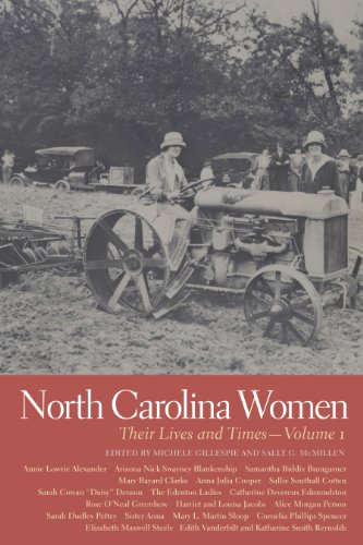 9780820339993: North Carolina Women: Their Lives and Times (Southern Women: Their Lives and Times Ser.)