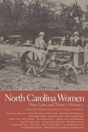 9780820340005: North Carolina Women: Their Lives and Times (Southern Women: Their Lives and Times Ser.)