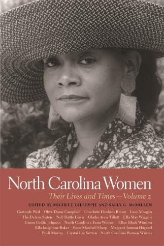 9780820340029: North Carolina Women: Their Lives and Times (Southern Women: Their Lives and Times Ser.)