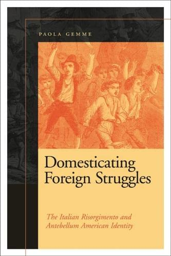 9780820343419: Domesticating Foreign Struggles: The Italian Risorgimento and Antebellum American Identity