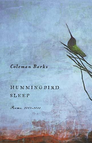 9780820345048: Hummingbird Sleep: Poems, 2009-2011