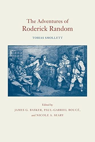 9780820346038: The Adventures of Roderick Random (The Works of Tobias Smollett)