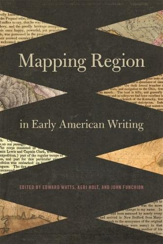Mapping Region in Early American Writing (Hardcover)