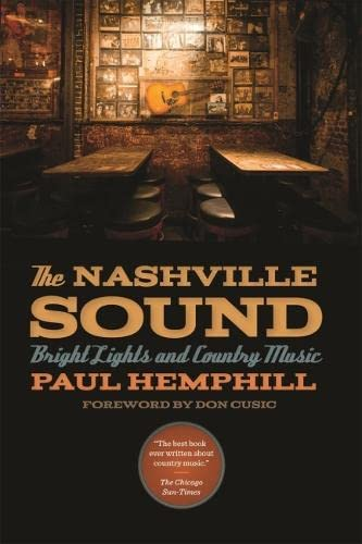 9780820348575: The Nashville Sound: Bright Lights and Country Music