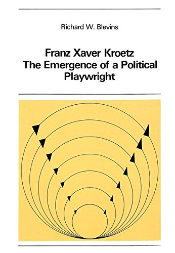Franz Xaver Kroetz: The Emergence of a: Sander, Volkmar