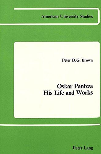 9780820400389: Oskar Panizza (American University Studies)